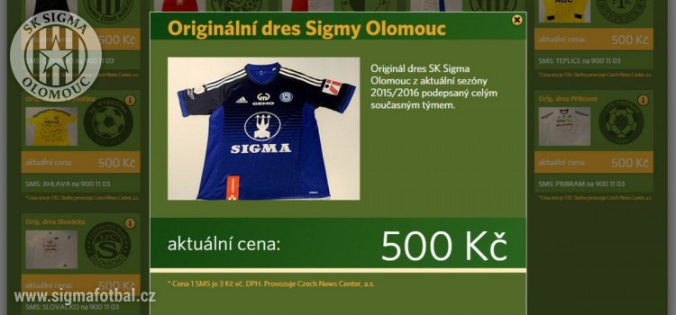 3da112769b1 iSport.cz realizuje aukci dresů pro Nadaci Jedličkova ústavu
